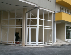 Aluminium joinery